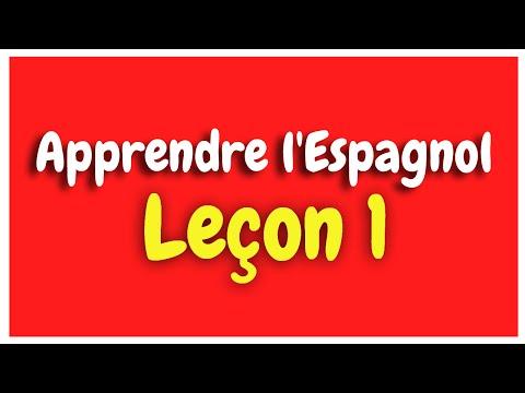apprendre-l'espagnol-leçon-1-pour-débutants-hd