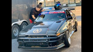 2019 End of Year Bash Ride Along in John Yim's SR20 AE86!