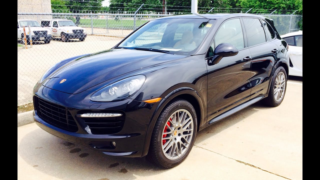2014 porsche cayenne gts exhaust start up and in depth review