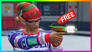 GTA 5 Online - How To Get The Up-N-Atomizer Ray Gun For FREE & EARLY! (GTA 5 DLC Update)