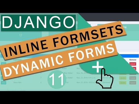 Inline Formsets   Django (3.0)  Crash Course Tutorials (pt 11)