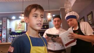 Второй этап конкурса поваров в ресторане