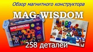 Обзор магнитного конструктора Mag-Wisdom 258 деталей - аналог Mag-Formers