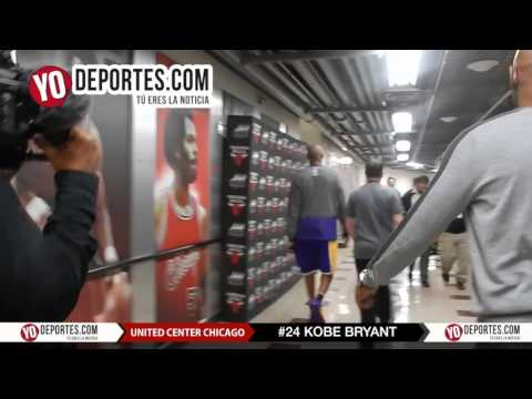 Kobe Bryant last moments at the United Center of Chicago Bulls