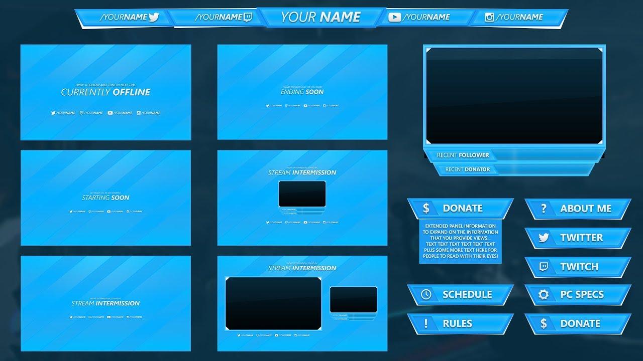 Sapphire Livestream Package   www streamermarket com by YLLiBzify