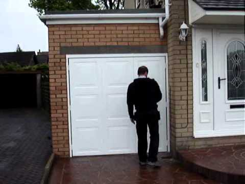 side hinged garage doorsSide Hinged Garage Door  YouTube