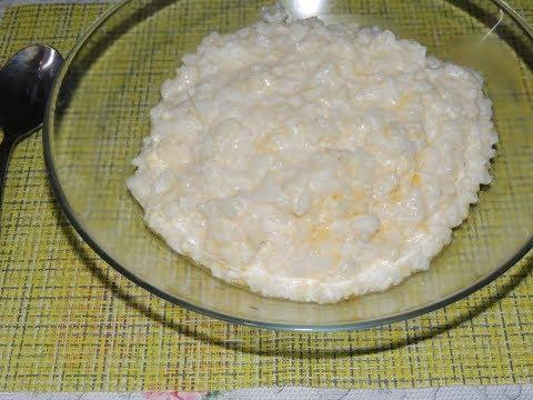 Каша рисовая молочная в мультиварке скарлетт