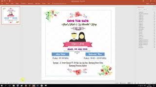 Template Undangan Pernikahan Islami Ppt Video Web Invitation