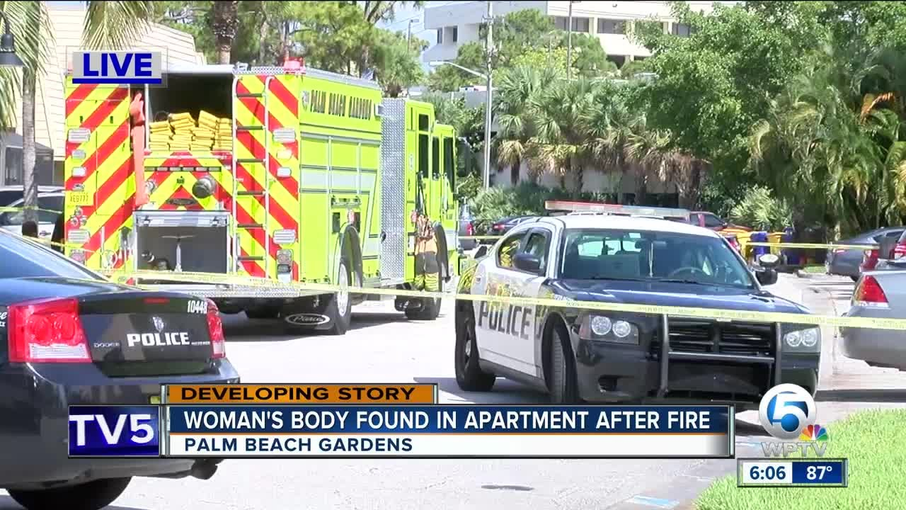 Body recovered in Palm Beach Gardens apartment fire Sunday morning ...