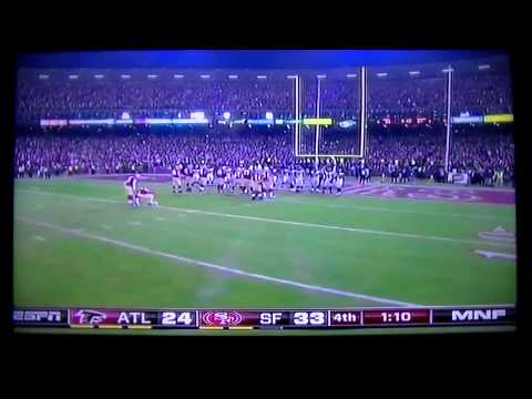 NaVorro Bowman 89 yard Interception- Last Game In Candlestick