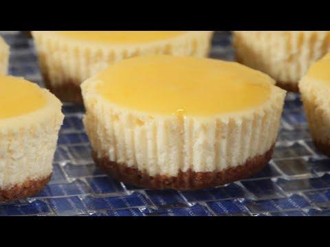 Lemon Cheesecakes Recipe Demonstration Joyofbaking.com