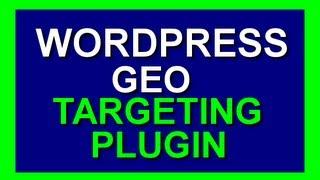Wordpress Geotargeting Plugin - Geo Target Website Visitors In Wordpress Titles And Widgets 2014