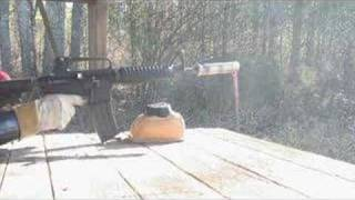 AAC suppressor testing. No outer tube!