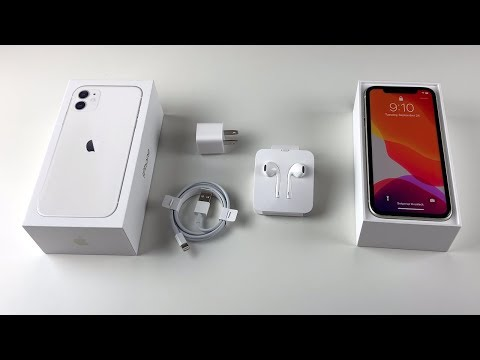 iPhone 11 Unboxing: White!