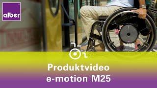 Restkraftverstärkender Greifreifenantrieb für Rollstühle - e-motion M25