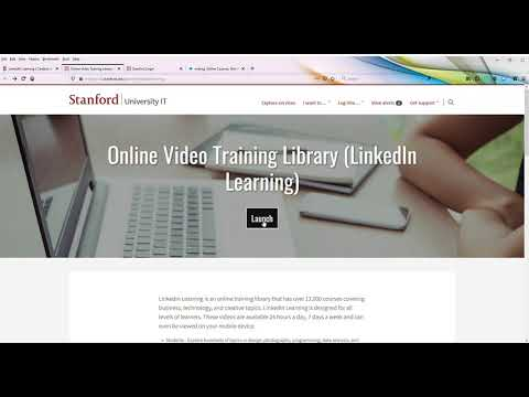 Free LinkedIn Learning for Stanford and SLAC employees
