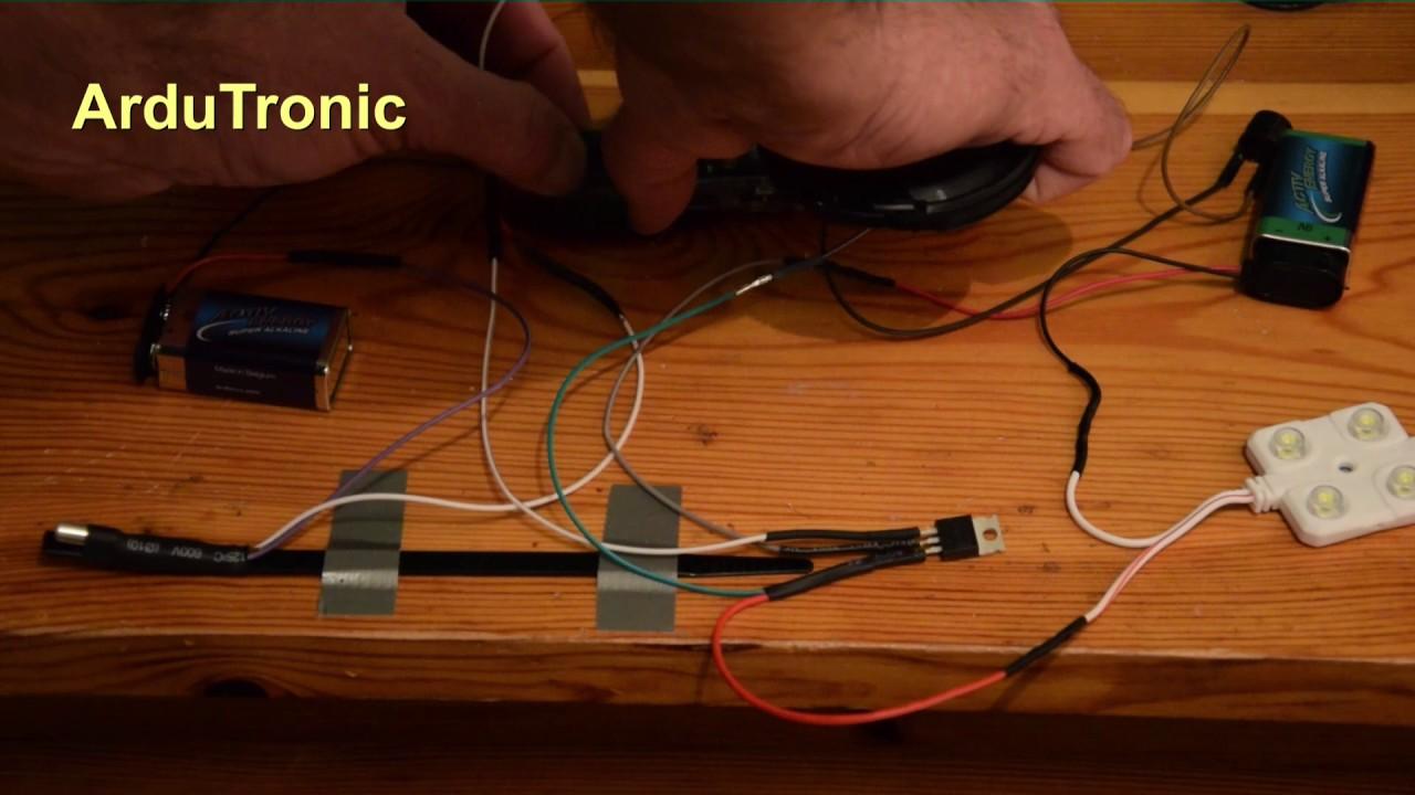 ArduTronic - Arduino - Transistor - Neigungsschalter - Piezo - LED ...