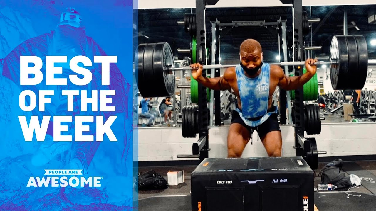 Ladder Tricking, Front Flips, Huge Muscles & More | Best of the Week