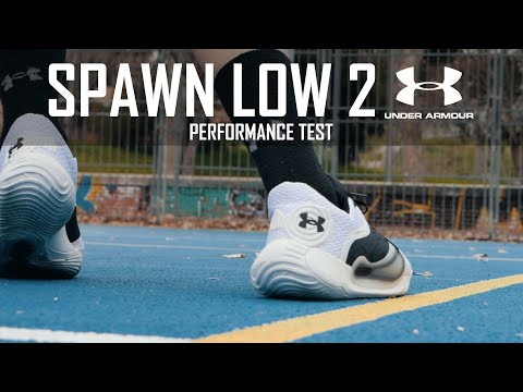 UNDER ARMOUR SPAWN LOW II - PERFORMANCE TEST