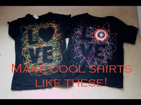 How To Make An Awesome Puffy Paint Shirt Youtube