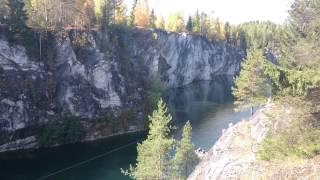 Russia - Karelia, Ruskeala Marble quarry / Рускеала мраморный каньон
