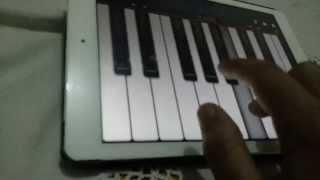 عزف بيانو بنت بلادي للمرحوم شقارة -  TUTORIEL PIANO Bent Bladi de  Abdessadek Chekara