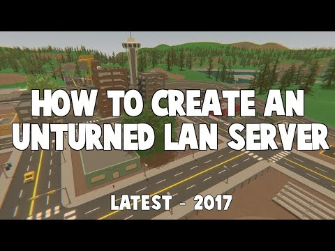how to create unturned server steam