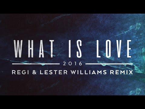 Lost Frequencies - What Is Love 2016 (Regi & Lester Williams Remix) [Cover Art]