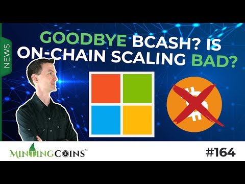 #164 Goodbye Bitcoin Cash (BCH)? Is on-chain Scaling Bad?