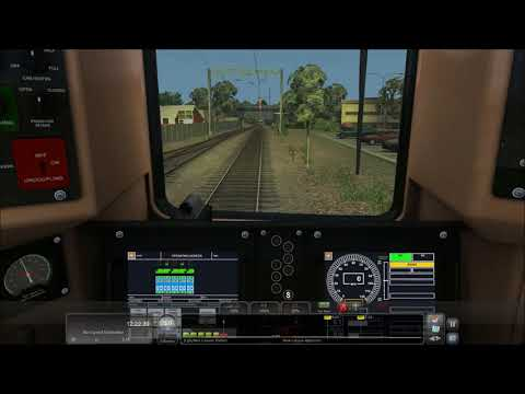 Train Simulator 2018 HD: Metro-North New Canaan Branch Time-lapse Round Trip Cab Ride  