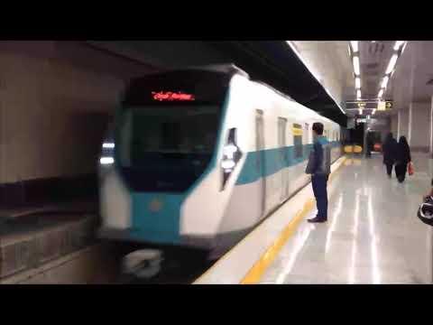 ISFAHAN Iran DAY 1 Metro and Bus Ride