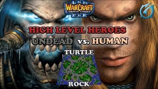 Grubby   Warcraft 3 The Frozen Throne   Undead vs. Human - High Level Heroes