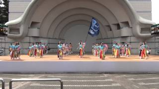 2013.8.24 明治神宮奉納 原宿表参道元氣祭 スーパーよさこい2013 じまん...
