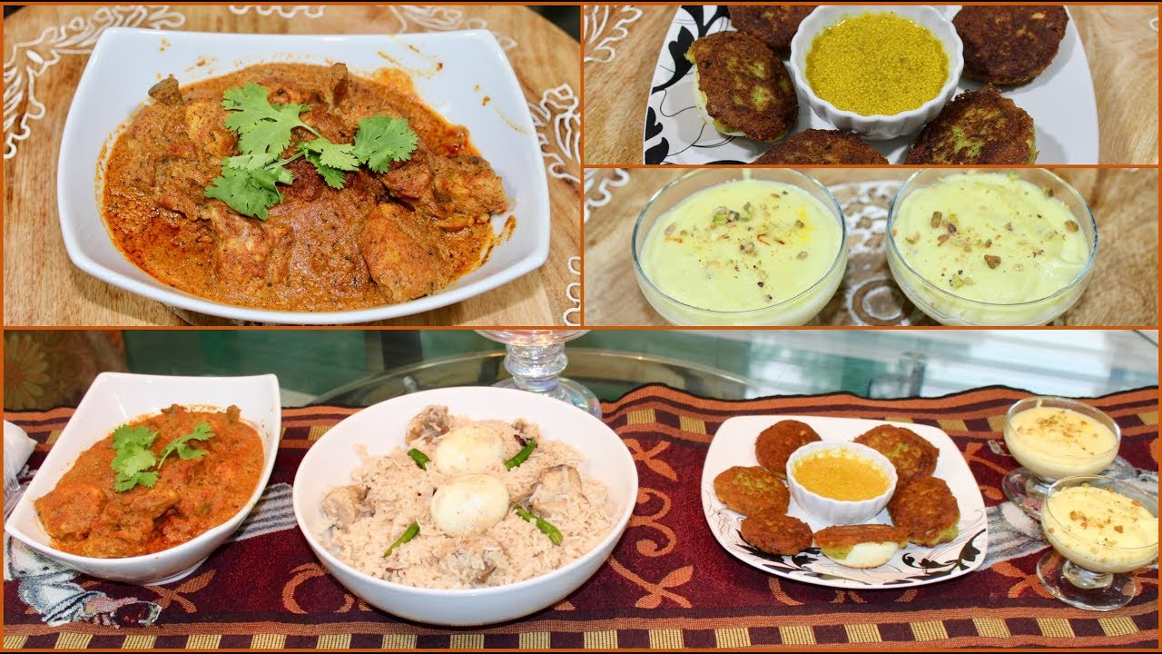 Special Indian Guest Dinner Recipes For Eid | Guest Dinner ...