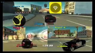 NFS Undercover (Wii) - Multiplayer game modes