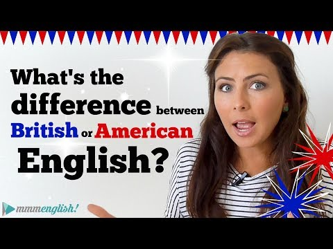 What's The Difference? American & British English? 🇺🇸🇬🇧