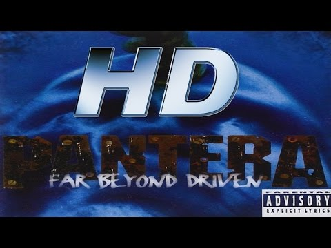 Full album - PanterA Far Beyond Driven - HD AUDIO (REMASTERED)