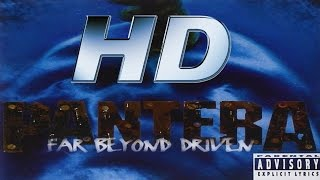 Full album - PanterA Far Beyond Driven - HD AUDIO (REMASTERED)