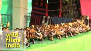 Wooden Artefacts For Sale, Hornbill Festival
