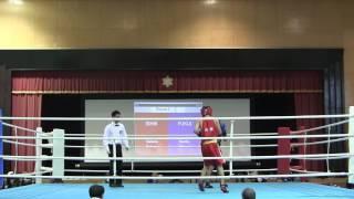 高校新人ボクシング北信越F級 石川×福井