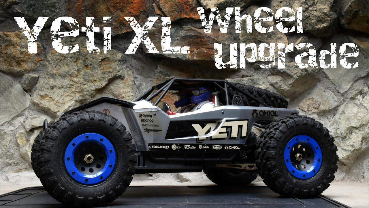 Axal And Wheel : Axial yeti xl wheel upgrade and baking tires off rims