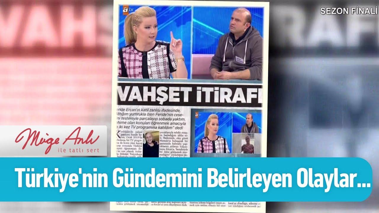Türkiye'nin gündemini belirleyen olaylar... - Müge Anlı ile Tatlı Sert 21 Haziran 2019