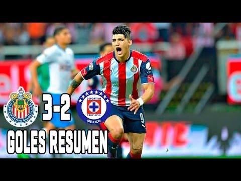 Chivas Vs Cruz Azul 2016 3 2 Goles Y Resumen Completo