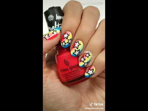 Best Nail Art Tutorial by TikTok Users thumbnail