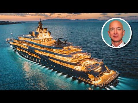 Jeff Bezos' $400 Million Flying Fox Yacht