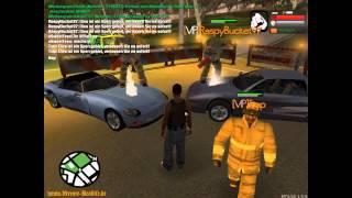 Let`s Play - GTA san Andreas Xtream Reallife - Part#4 -  Xtream Reallife Feuerwehr Einsatz