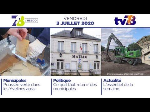 7/8 Hebdo. Edition du vendredi 3 juillet 2020