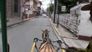 Kalesa Ride Fort Santiago Manila Philippines
