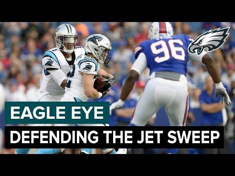 Eagle Eye: Defending The Jet Sweep   Philadelphia Eagles