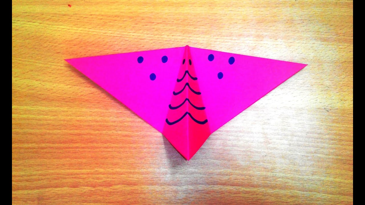 How to make an origami butterfly step by step. - YouTube - photo#38